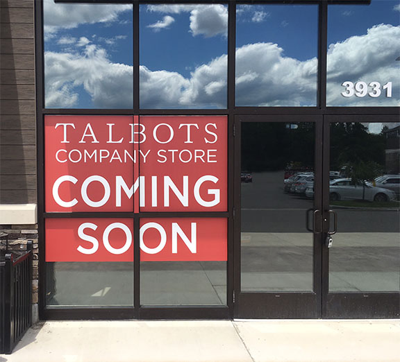 S-Talbots window