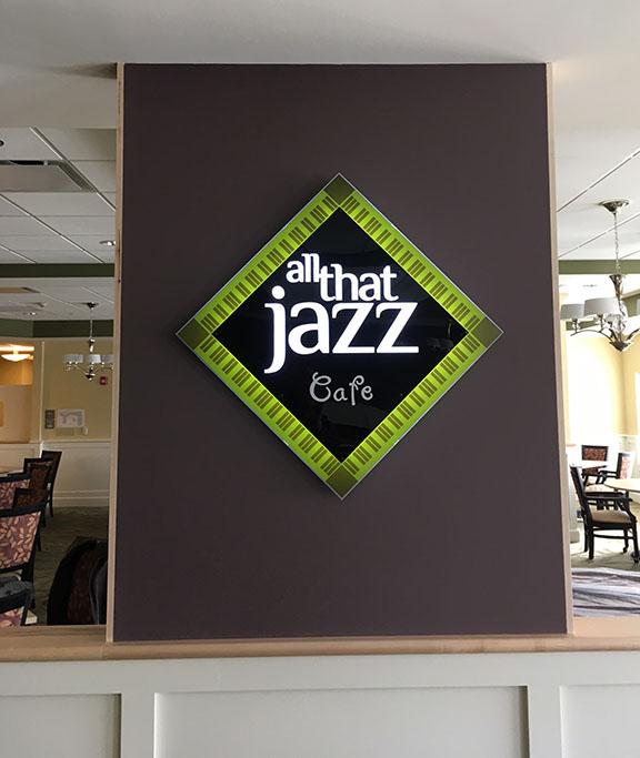 S-Jazz sign