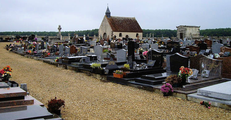 Senoches Communal Cemetery in France