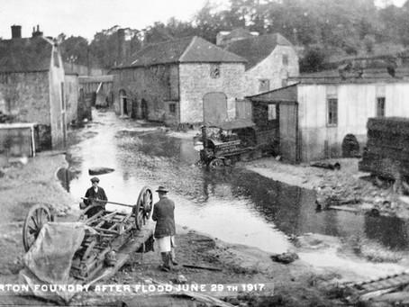 Devastating Floods in the Gillingham area