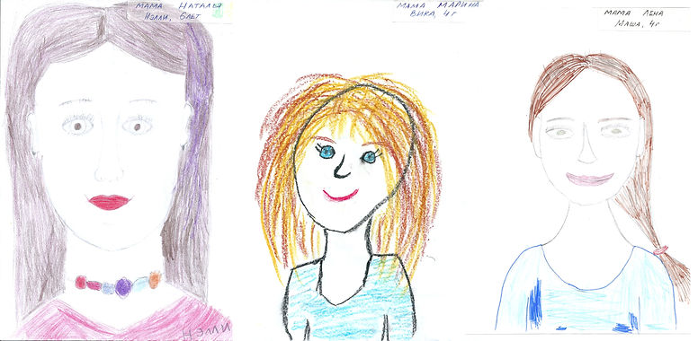 Конкурс рисунка ко дню матери