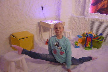 Йога в соляной пещере