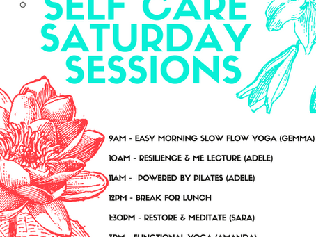 The Self-Care Saturday Sessions