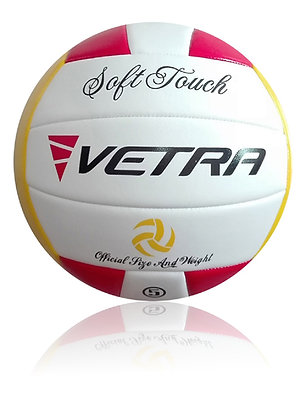 Soft-Touch Volleyball Yellow/Red