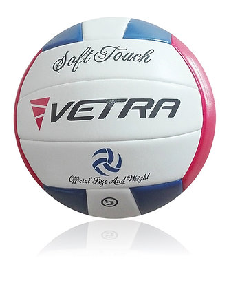 Soft-Touch Volleyball Red/Blue