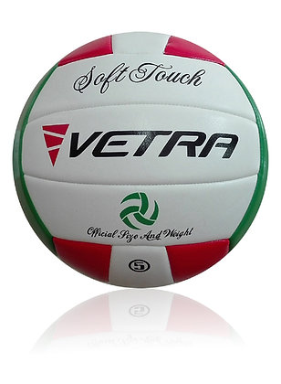 Soft-Touch Volleyball Red/Green