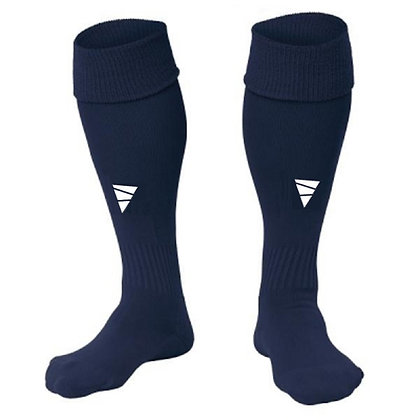 Focus Knee Socks Navy Size 8-12 US