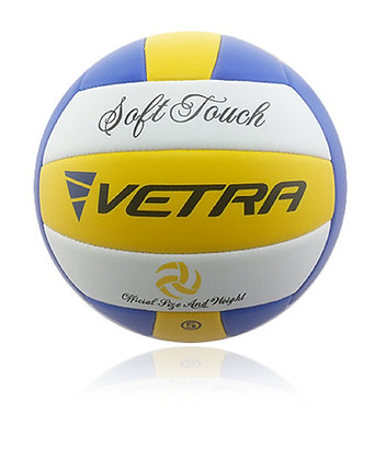 Soft-Touch Volleyball Yellow/Blue