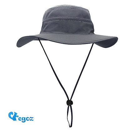 Coconut Sun Hat Grey