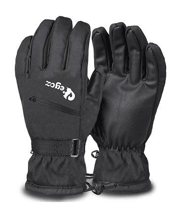 Macadamia Ski Gloves Black
