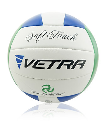 Soft-Touch Volleyball Green/Blue