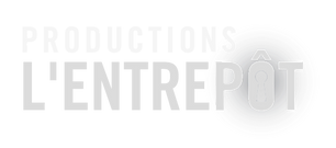 Logo blanc - Productions l'Entrepôt