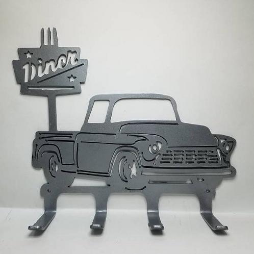 IFS Cruising Across America Series #5 Diner Sign with 50's C-Series Truck * Meta