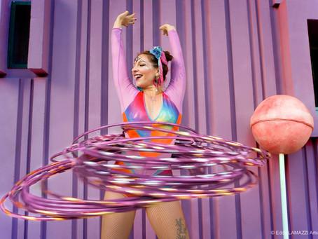 FR - Comment faire du hula-hoop à la taille ? Avec Lila Chupa-Hoops