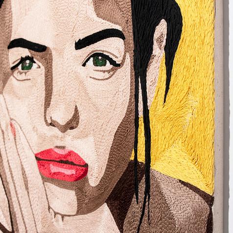 Orit Fuchs, VIVID 4 Hand Embroidery, 2018
