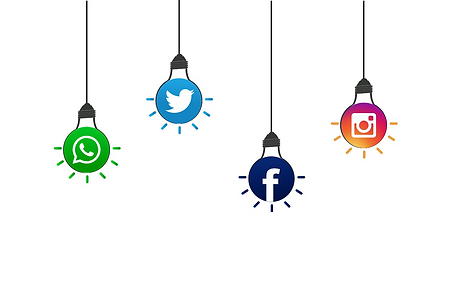 Instagram logo; LinkedIn logo; Facebook logo; WhatsApp Business logo_vita_marketing_solutions