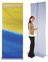 Bannerstand, banner stand, SilverStep®