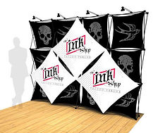 tradeshow, fabric, display, floor model, Xpressions