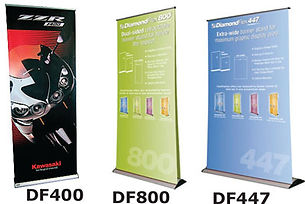 Economic banner stand