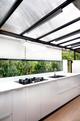 Open Outdoor Garden