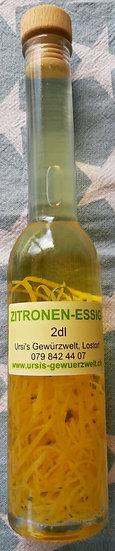 Zitronen-Essig
