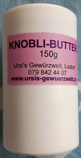 Knobli-Butter Mischung