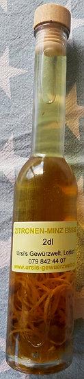 Zitronen-Minz Essig