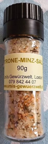 Zitrone-Minz Salz