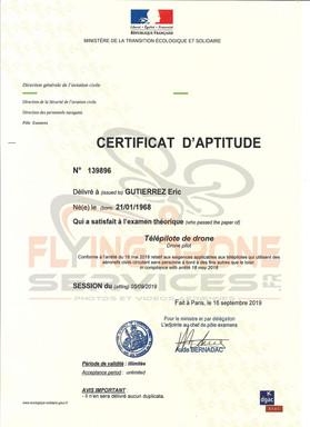 01 - Certificat Aptitude Telepilote