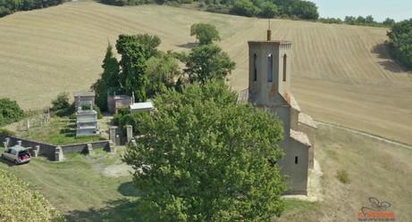 [Vidéo Drone N°2] - Eglise de Saint Martin de Grizac - 31/08/2019  PUYBEGON (81) - FRANCE DJI MAVIC 2 PRO