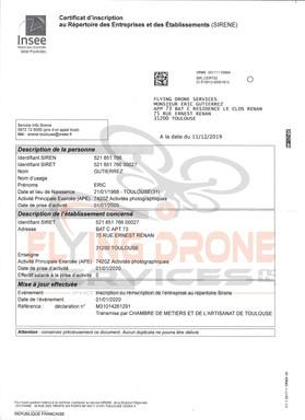 02 - Certificat Inscription INSEE 2019