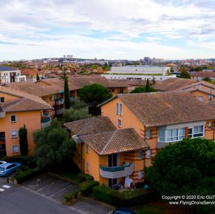 Résidence CLOS RENAN II - 16/10/2019 TOULOUSE  (31) - FRANCE DJI MAVIC 2 PRO