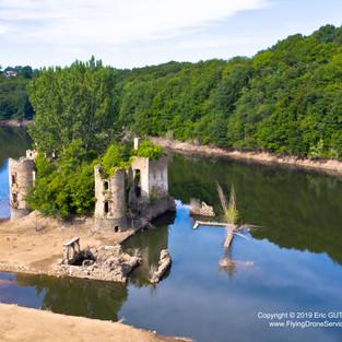 Chateau de GrandVal - 17/08/2019 TEILLET (81) - FRANCE DJI MAVIC 2 PRO