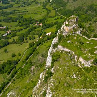 Château de Roquefixade - 21/05/2020  ROQUEFIXADE(09) - FRANCE DJI MAVIC 2 PRO