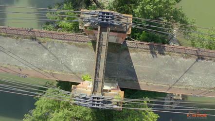 [Vidéo Drone N°1] - Pont Suspendu de Bourret - 29/08/2019  BOURRET (82) - FRANCE DJI MAVIC 2 PRO