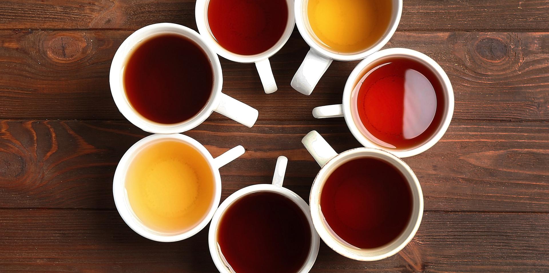 A Rainbow of Teas