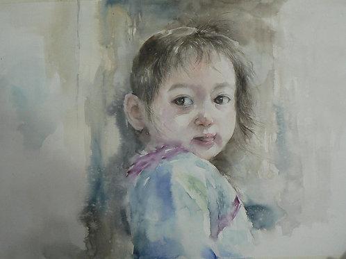 Vietnam 越南/Vương Huệ Chi/ Watercolor