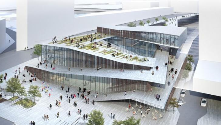 Kengo-Kuma-Paris-metro-station-design