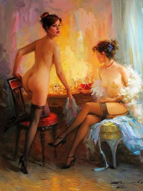 EU/IT artist/AT(Beauty)Oil Painting(百業名家登錄3 year)