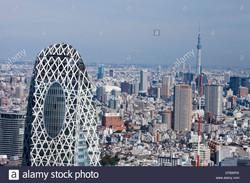 japan-asia-tokyo-city-shinjuku-district-cocoon-building-sky-tree-tower-CFBWRX