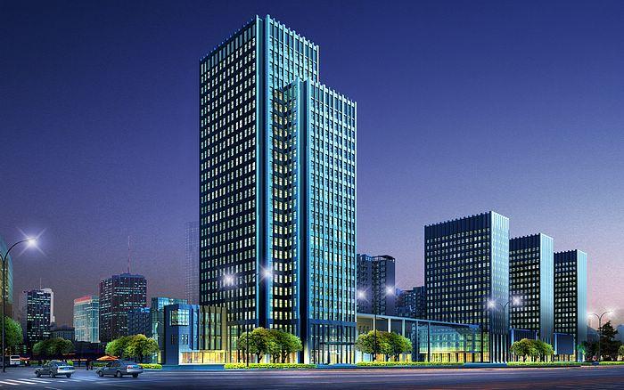 Commercial Building 3D Architectural Renderings CSJZXG_1012