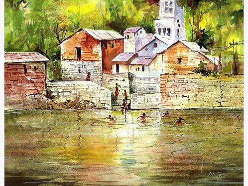 Kv Noufal/Wakra/water color/