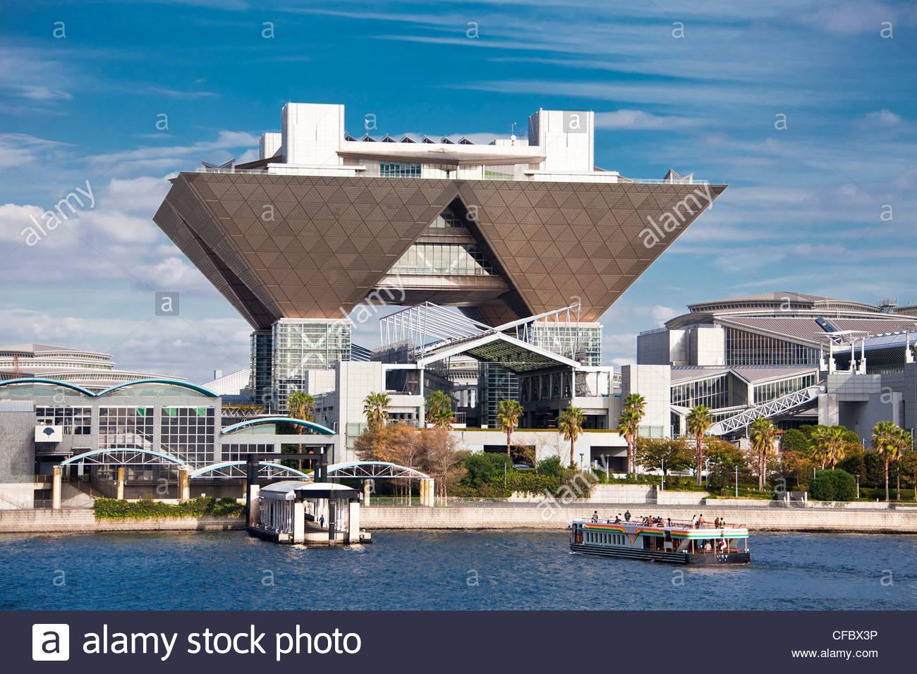 japan-asia-tokyo-city-odaiba-district-big-sight-building-architecture-CFBX3P