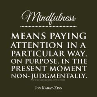 Be Mindful Be Present   Wholesome Healing Yoga