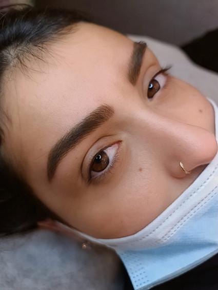 איפור קבוע גבות החלמה