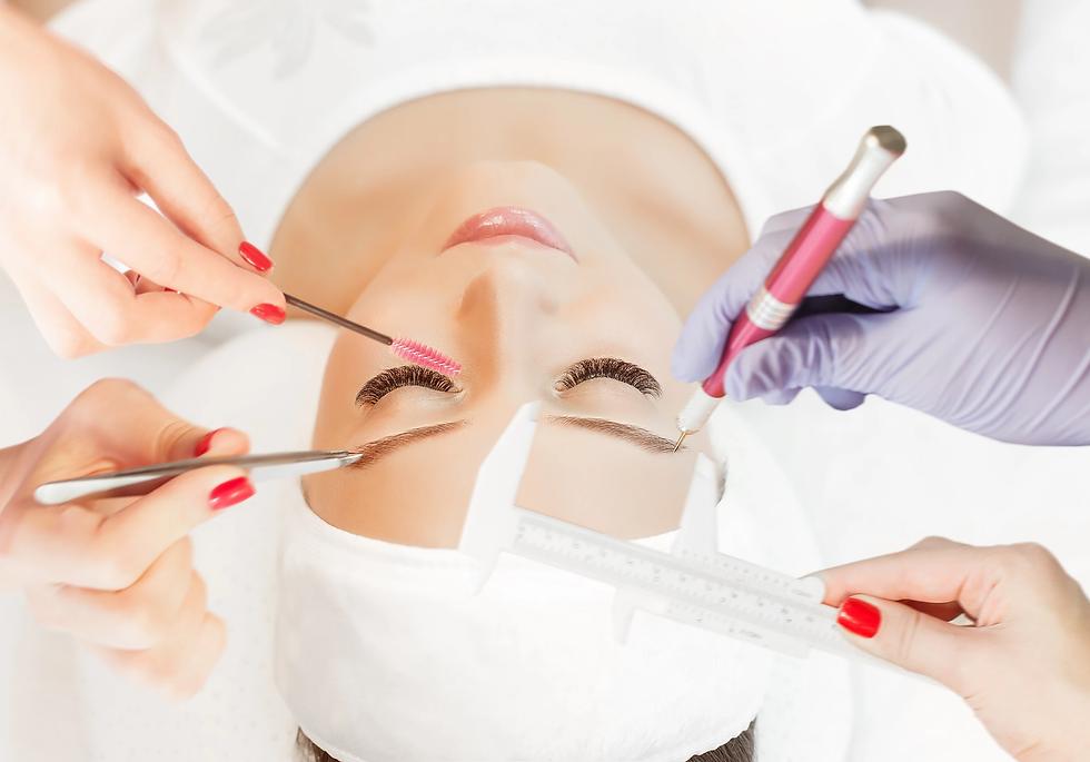 טיפולים איפור קבוע והלחמת ריסים