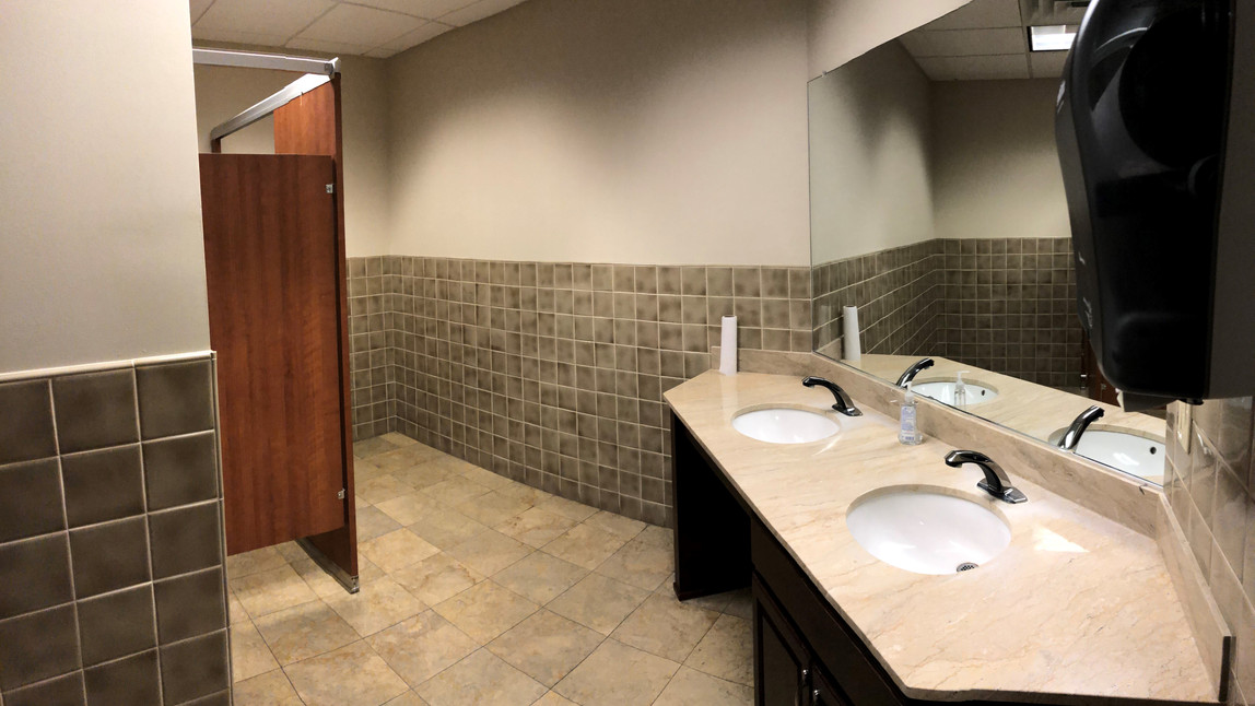 Vacant Space Private Bathroom