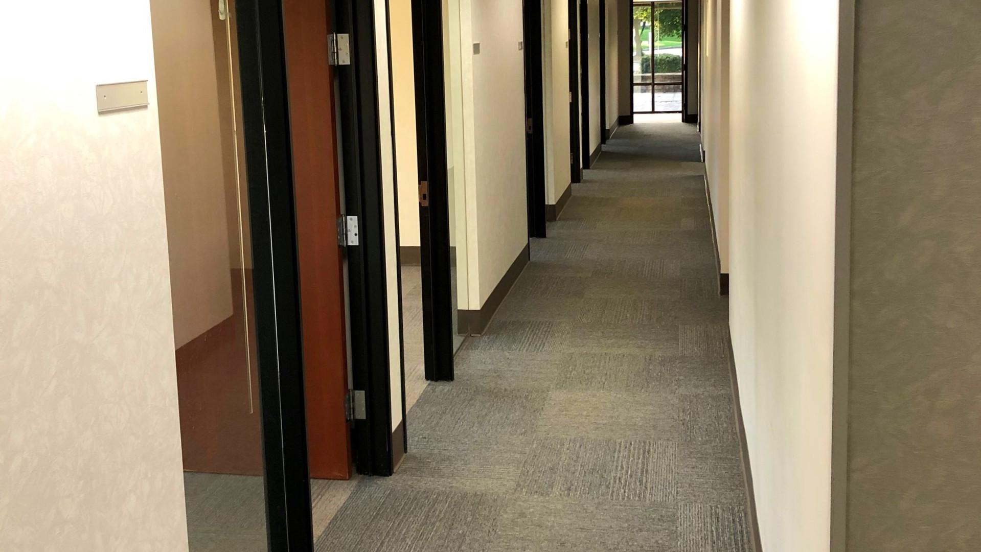 Vacant Space Hallway