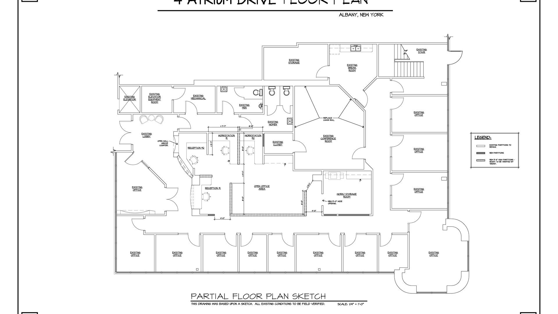 Vacant Space Floor Plan