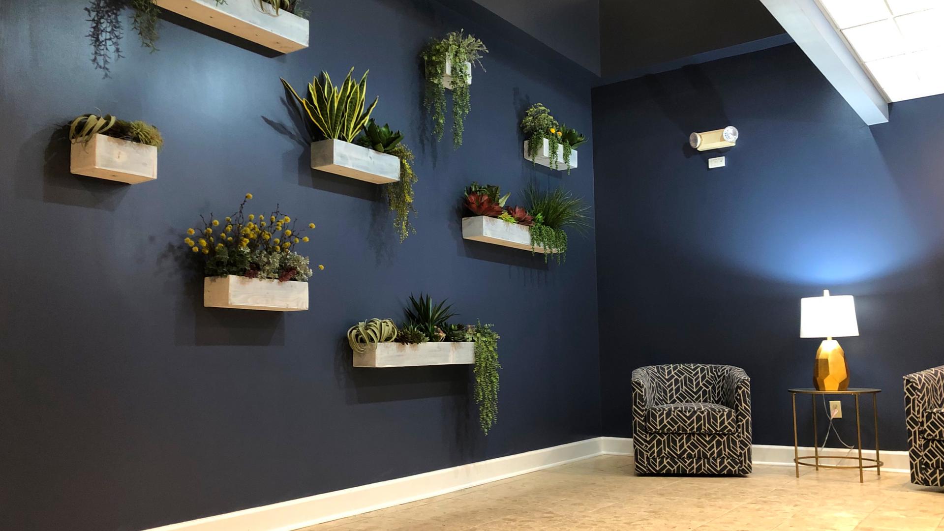 4 Atrium Drive Plant Wall